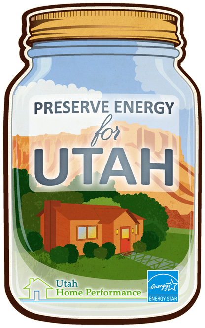Preserve Energy for Utah jar illustration
